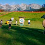 archery touch au grand bornand